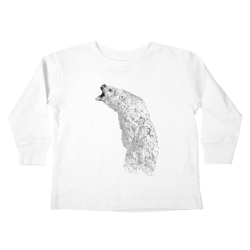 bearoar Kids Toddler Longsleeve T-Shirt by gupikus's Artist Shop