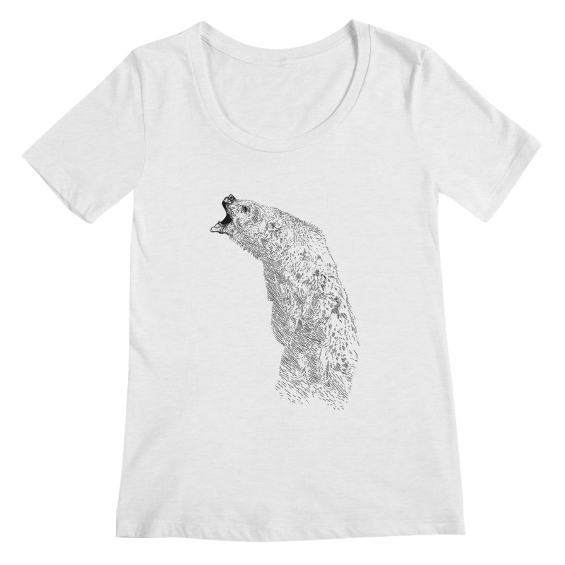 bearoar Women's Scoopneck by gupikus's Artist Shop