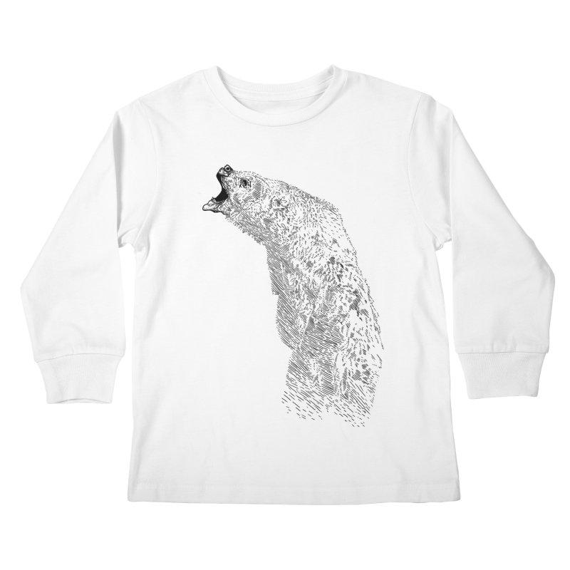 bearoar Kids Longsleeve T-Shirt by gupikus's Artist Shop