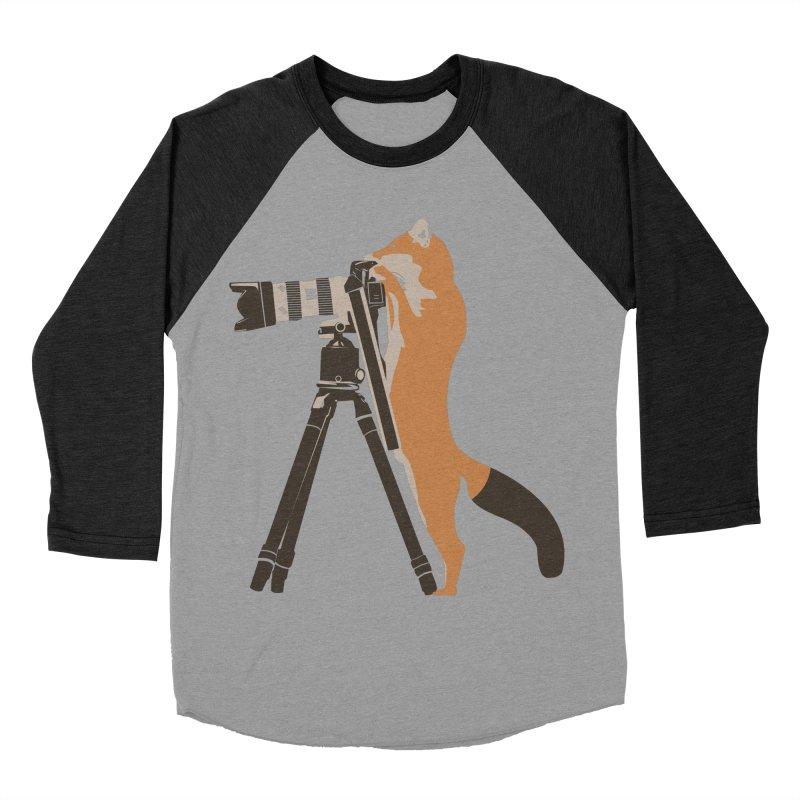 foxtographer Women's Baseball Triblend T-Shirt by gupikus's Artist Shop