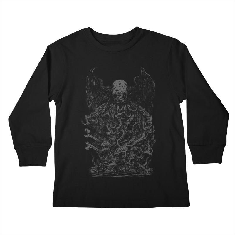 cthulhu Kids Longsleeve T-Shirt by gupikus's Artist Shop