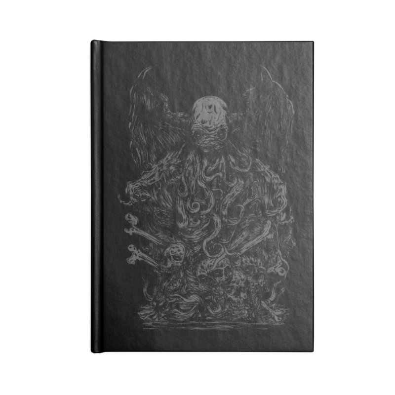 cthulhu Accessories Notebook by gupikus's Artist Shop
