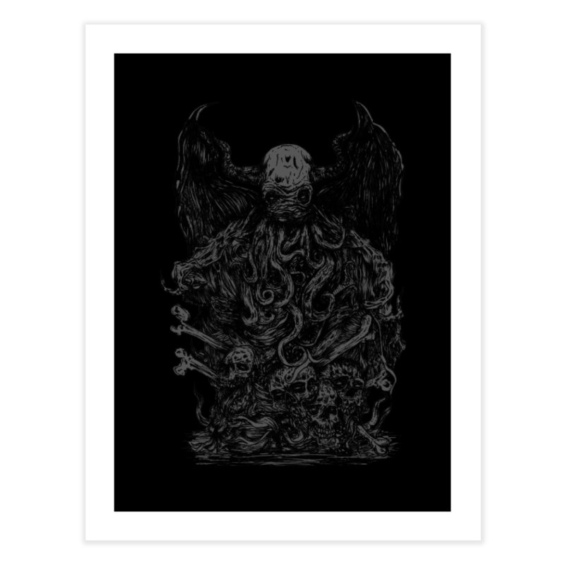 cthulhu Home Fine Art Print by gupikus's Artist Shop