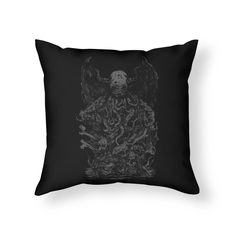 cthulhu Home Throw Pillow by gupikus's Artist Shop