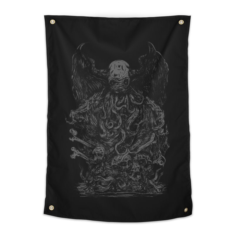 cthulhu Home Tapestry by gupikus's Artist Shop