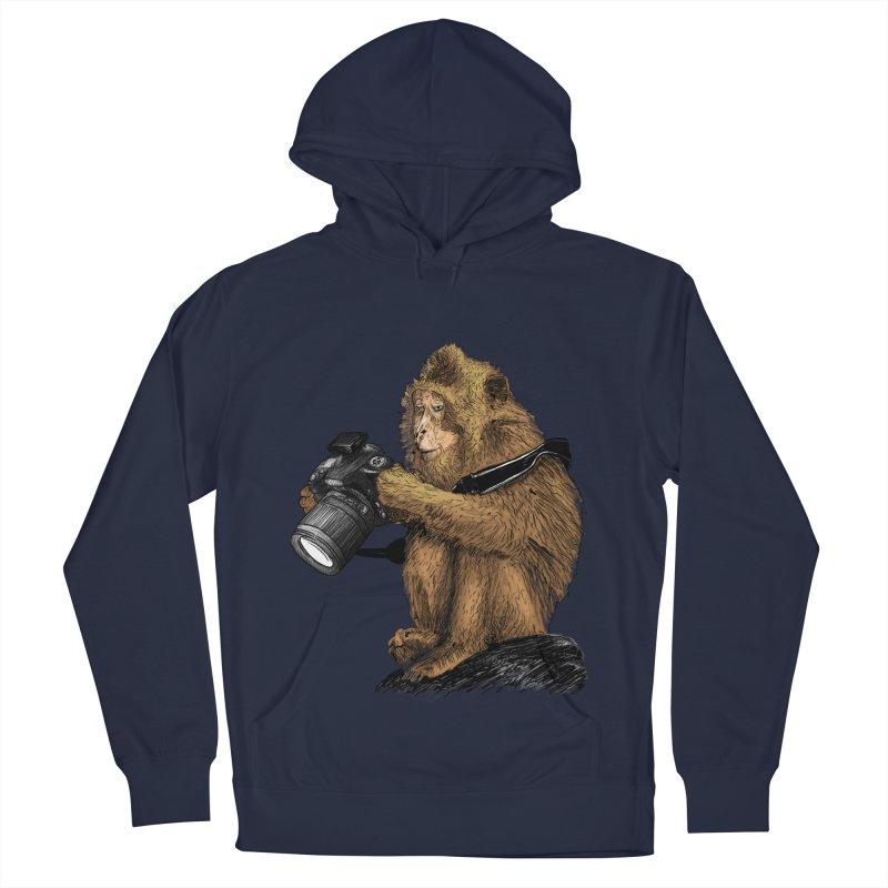 monkey photographer Men's Pullover Hoody by gupikus's Artist Shop