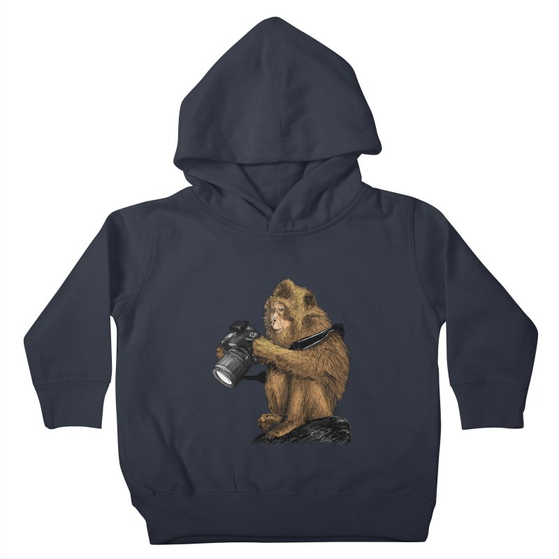 monkey photographer Kids  by gupikus's Artist Shop