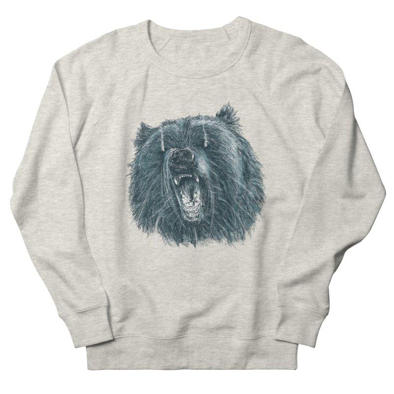 beast bear Men's Sweatshirt by gupikus's Artist Shop