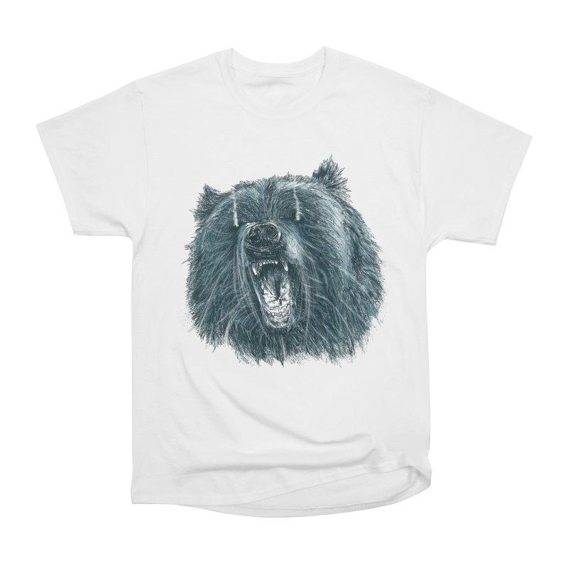 beast bear Men's Heavyweight T-Shirt by gupikus's Artist Shop