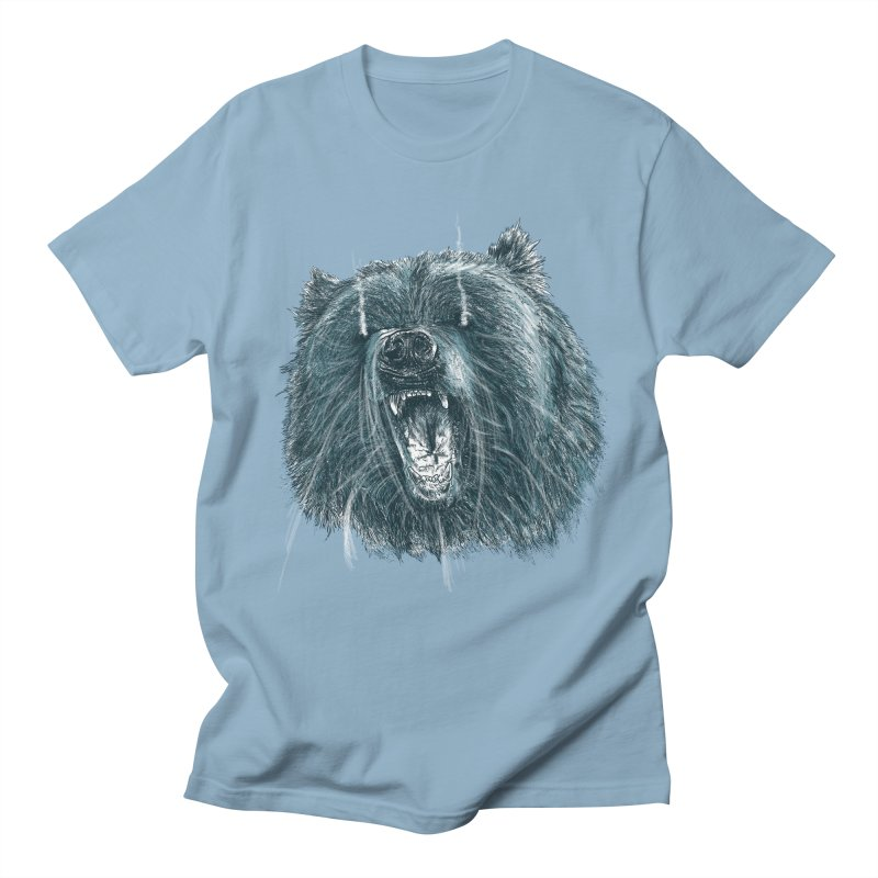 beast bear Men's Regular T-Shirt by gupikus's Artist Shop
