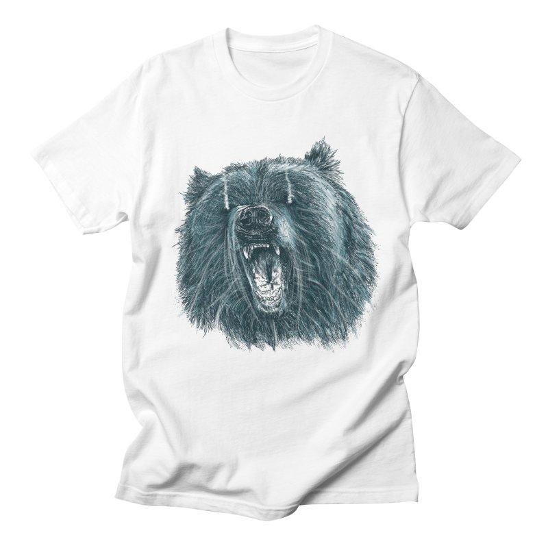 beast bear Women's Regular Unisex T-Shirt by gupikus's Artist Shop