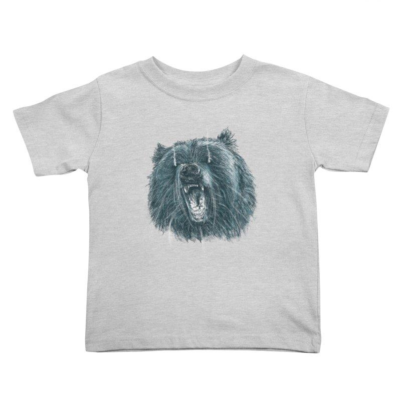 beast bear Kids Toddler T-Shirt by gupikus's Artist Shop