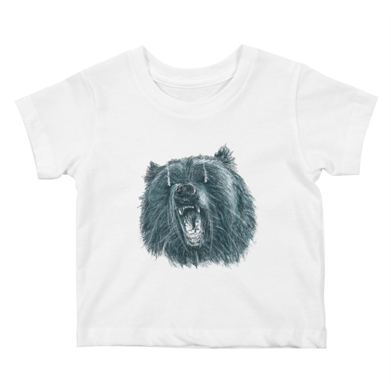 beast bear Kids Baby T-Shirt by gupikus's Artist Shop