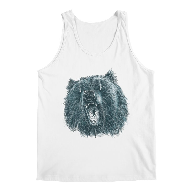 beast bear Men's Regular Tank by gupikus's Artist Shop
