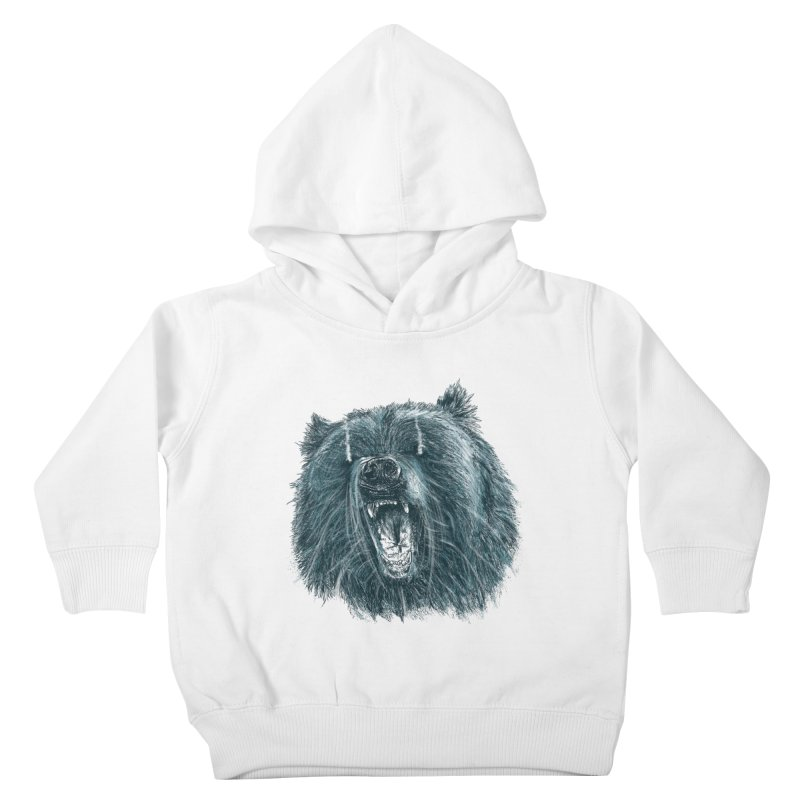 beast bear Kids Toddler Pullover Hoody by gupikus's Artist Shop