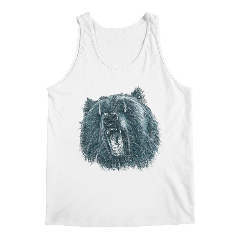 beast bear Men's Regular Tank by gupikus's Artist Shop