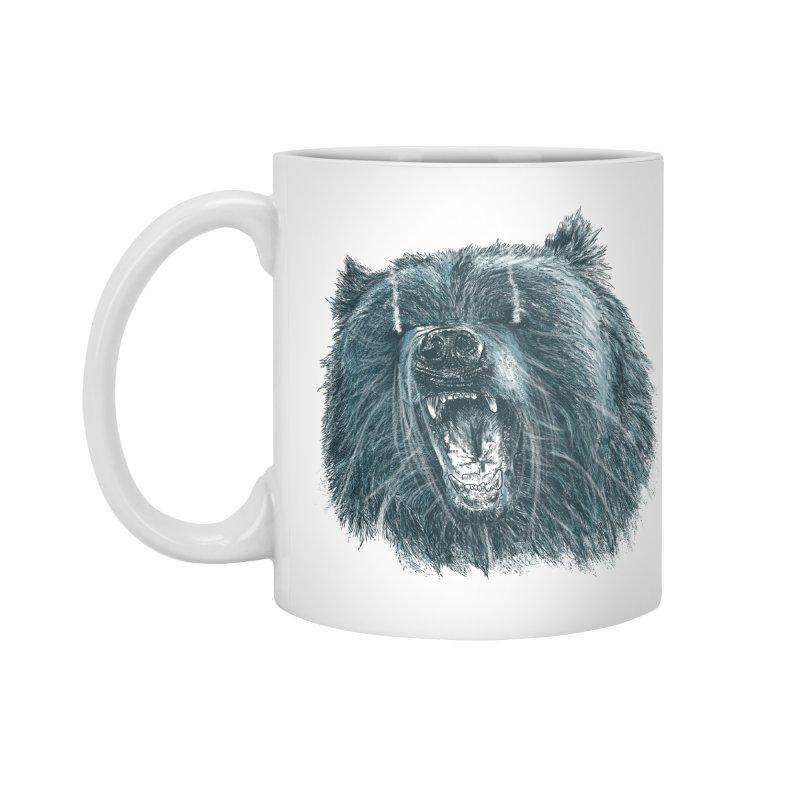 beast bear Accessories Standard Mug by gupikus's Artist Shop