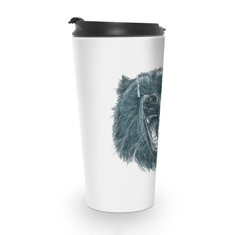 beast bear Accessories Travel Mug by gupikus's Artist Shop