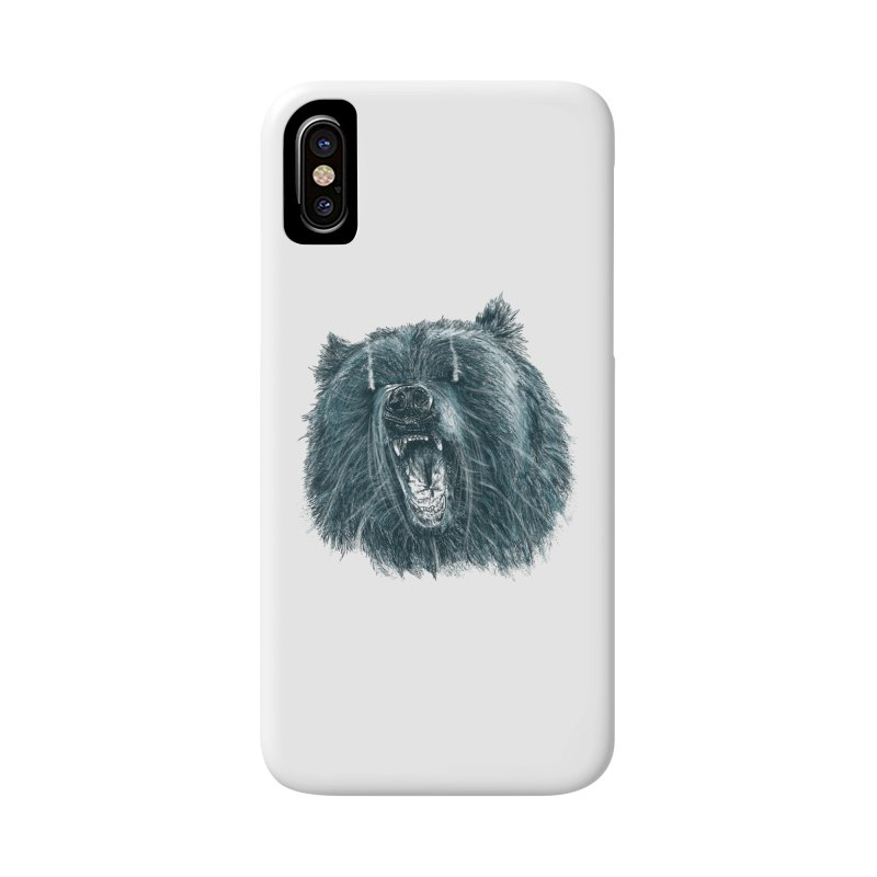 beast bear Accessories Phone Case by gupikus's Artist Shop