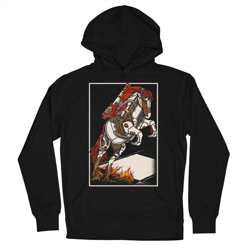 the darkness knight Men's French Terry Pullover Hoody by gupikus's Artist Shop