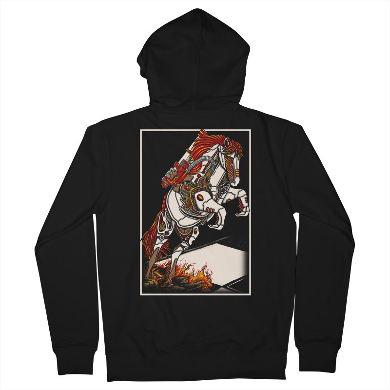 the darkness knight Women's French Terry Zip-Up Hoody by gupikus's Artist Shop