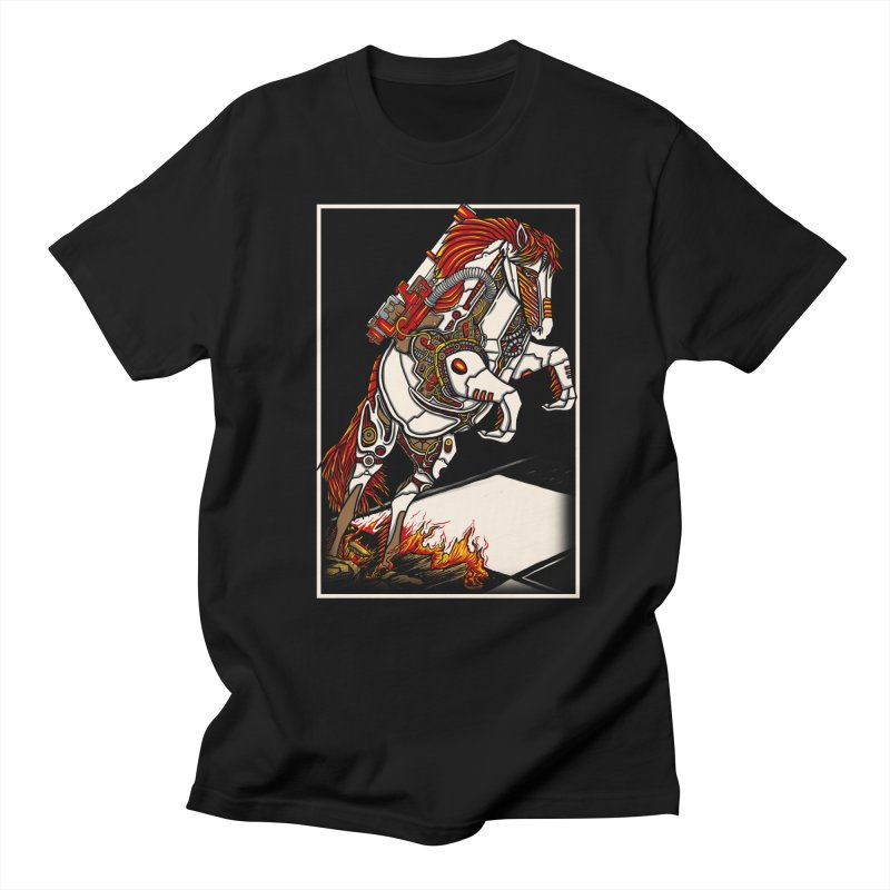 the darkness knight Men's Regular T-Shirt by gupikus's Artist Shop