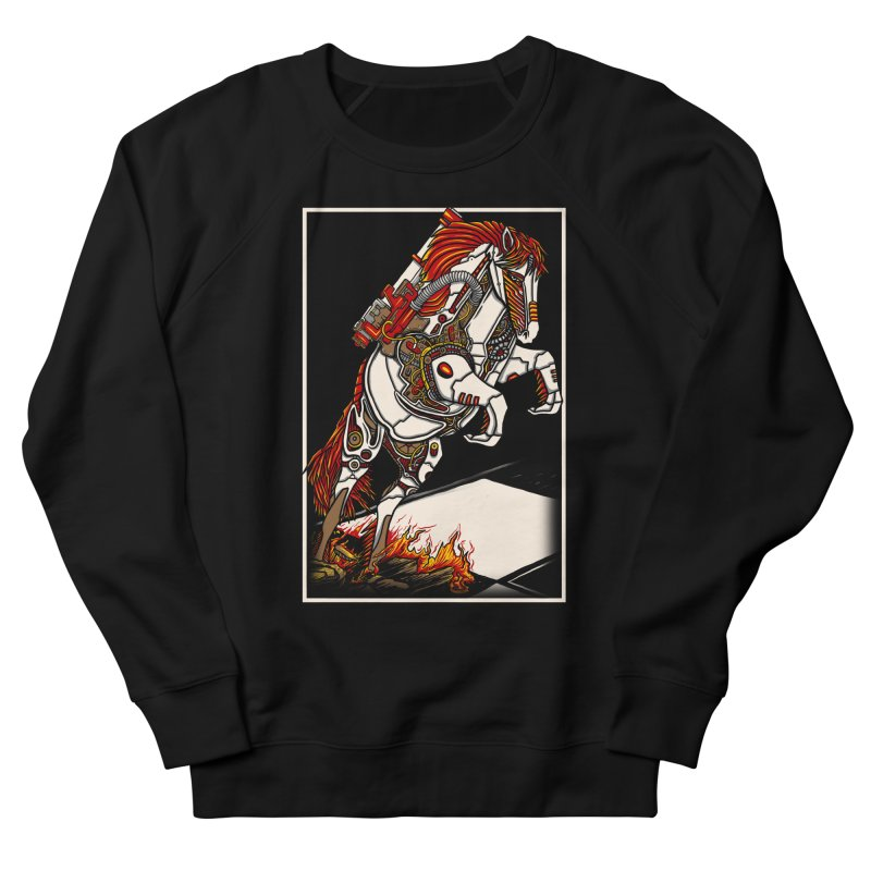 the darkness knight Women's French Terry Sweatshirt by gupikus's Artist Shop