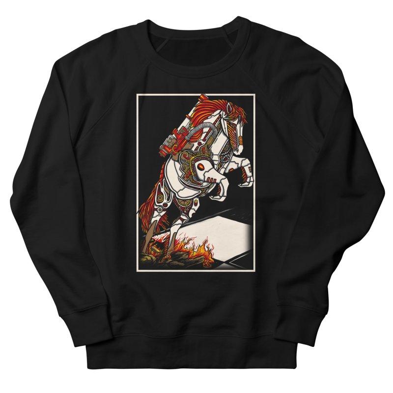 the darkness knight Men's French Terry Sweatshirt by gupikus's Artist Shop