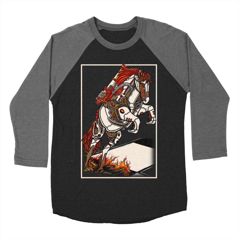 the darkness knight Women's Baseball Triblend Longsleeve T-Shirt by gupikus's Artist Shop