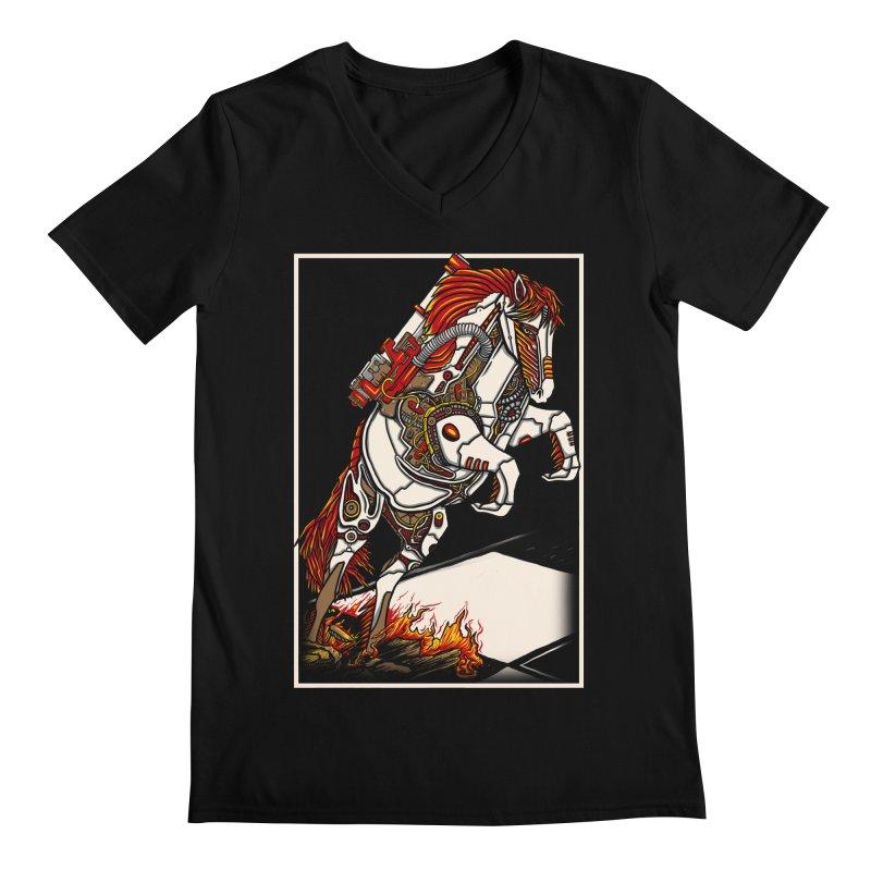 the darkness knight Men's V-Neck by gupikus's Artist Shop