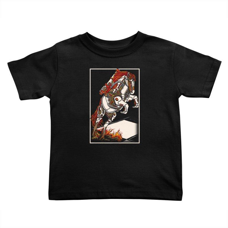 the darkness knight Kids Toddler T-Shirt by gupikus's Artist Shop