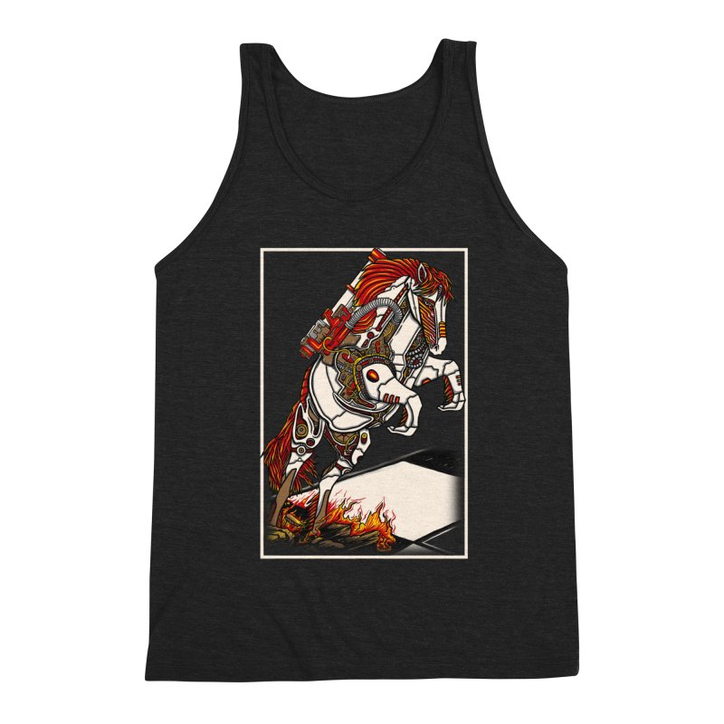 the darkness knight Men's Triblend Tank by gupikus's Artist Shop