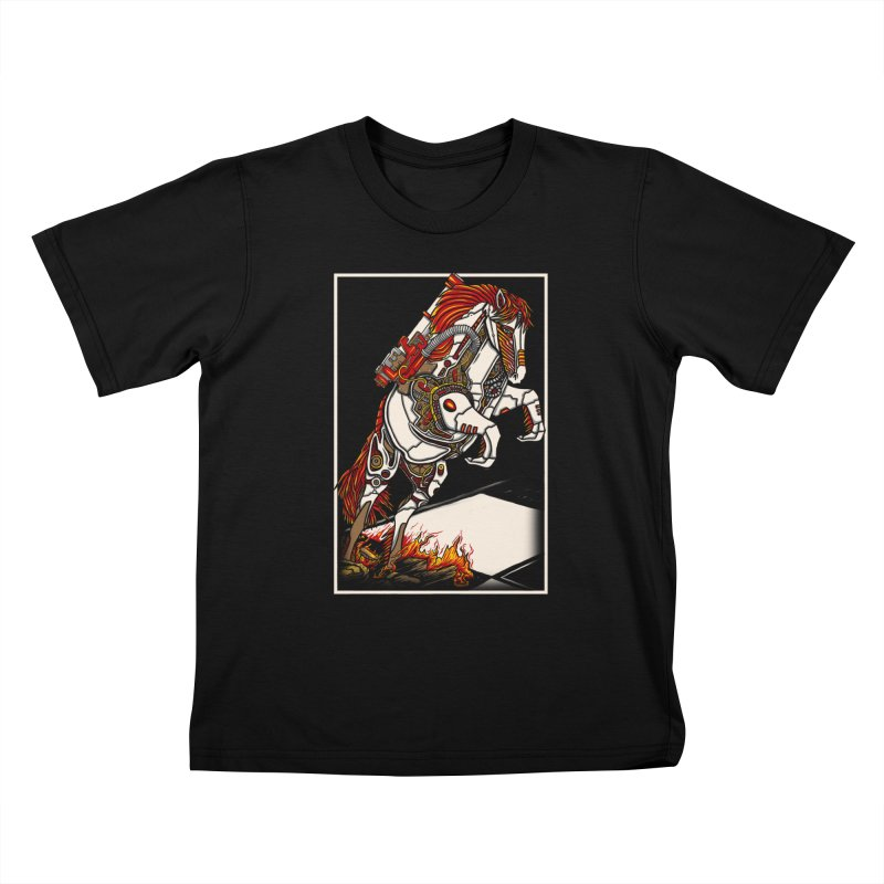 the darkness knight Kids T-Shirt by gupikus's Artist Shop
