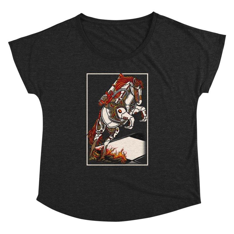 the darkness knight Women's Dolman Scoop Neck by gupikus's Artist Shop