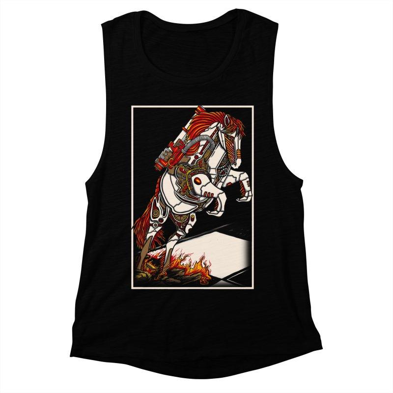 the darkness knight Women's Muscle Tank by gupikus's Artist Shop