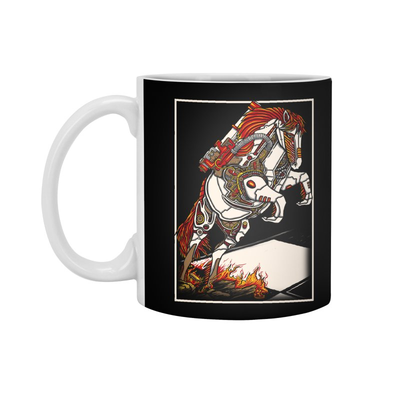 the darkness knight Accessories Standard Mug by gupikus's Artist Shop