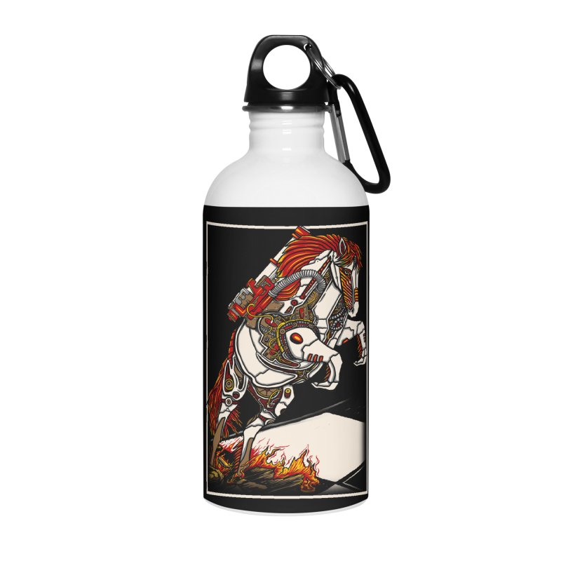 the darkness knight Accessories Water Bottle by gupikus's Artist Shop