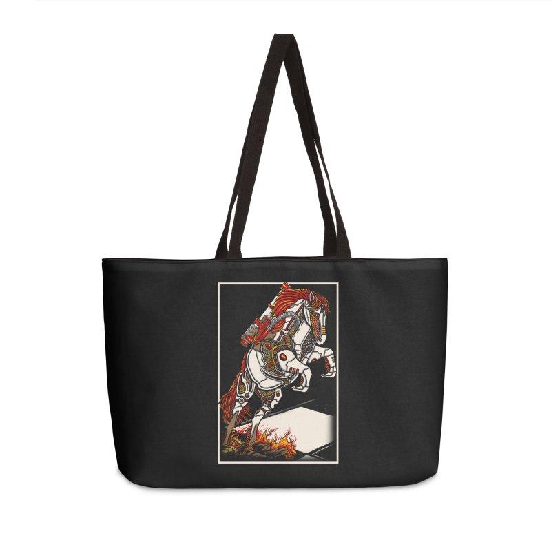 the darkness knight Accessories Weekender Bag Bag by gupikus's Artist Shop