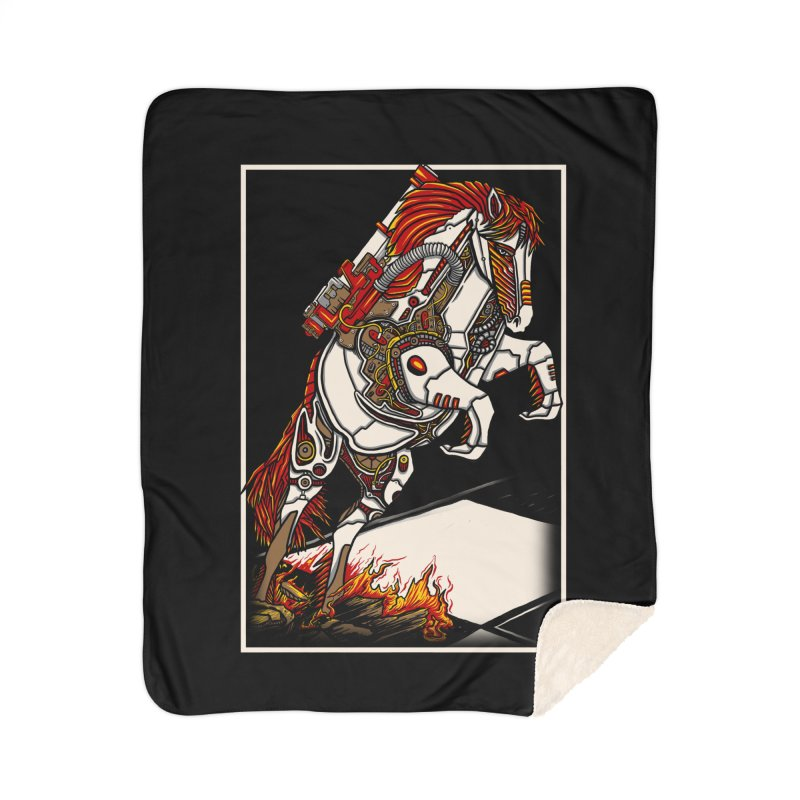 the darkness knight Home Sherpa Blanket Blanket by gupikus's Artist Shop