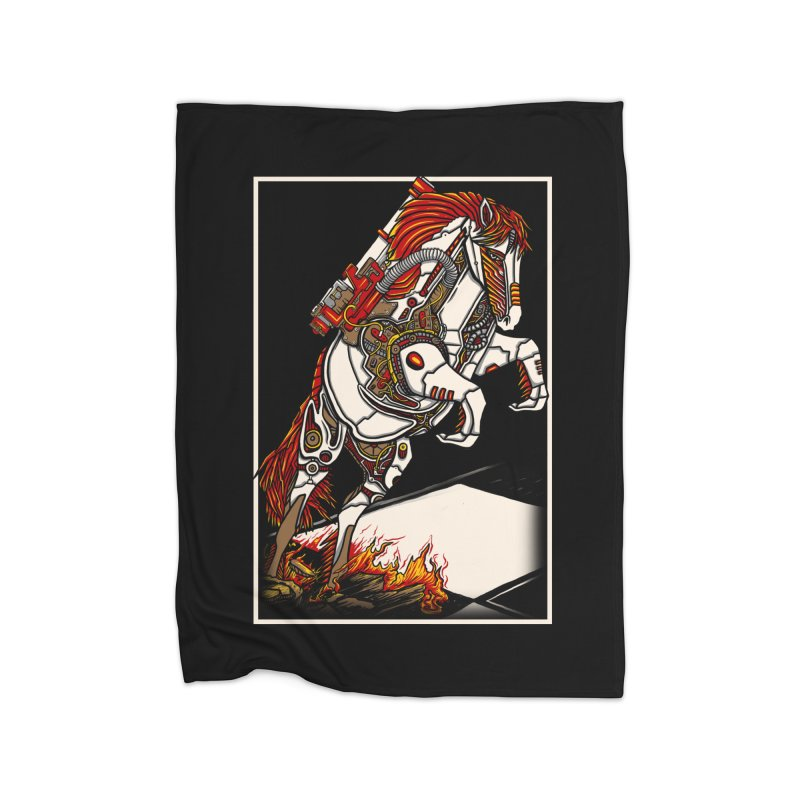 the darkness knight Home Blanket by gupikus's Artist Shop