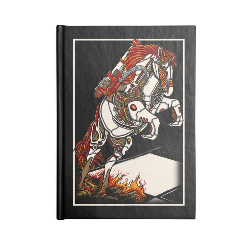 the darkness knight Accessories Lined Journal Notebook by gupikus's Artist Shop