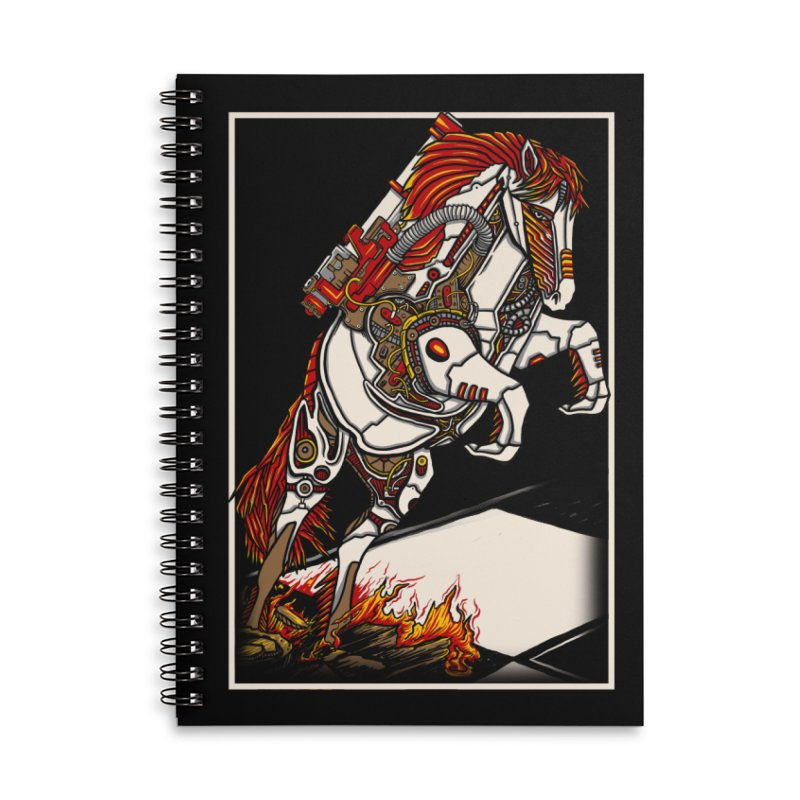 the darkness knight Accessories Lined Spiral Notebook by gupikus's Artist Shop