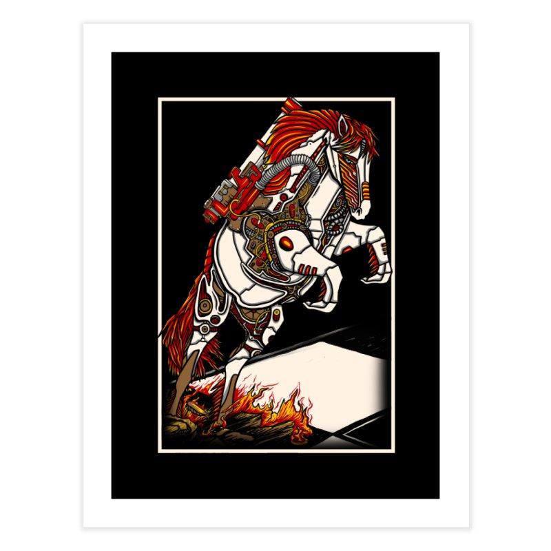 the darkness knight Home Fine Art Print by gupikus's Artist Shop