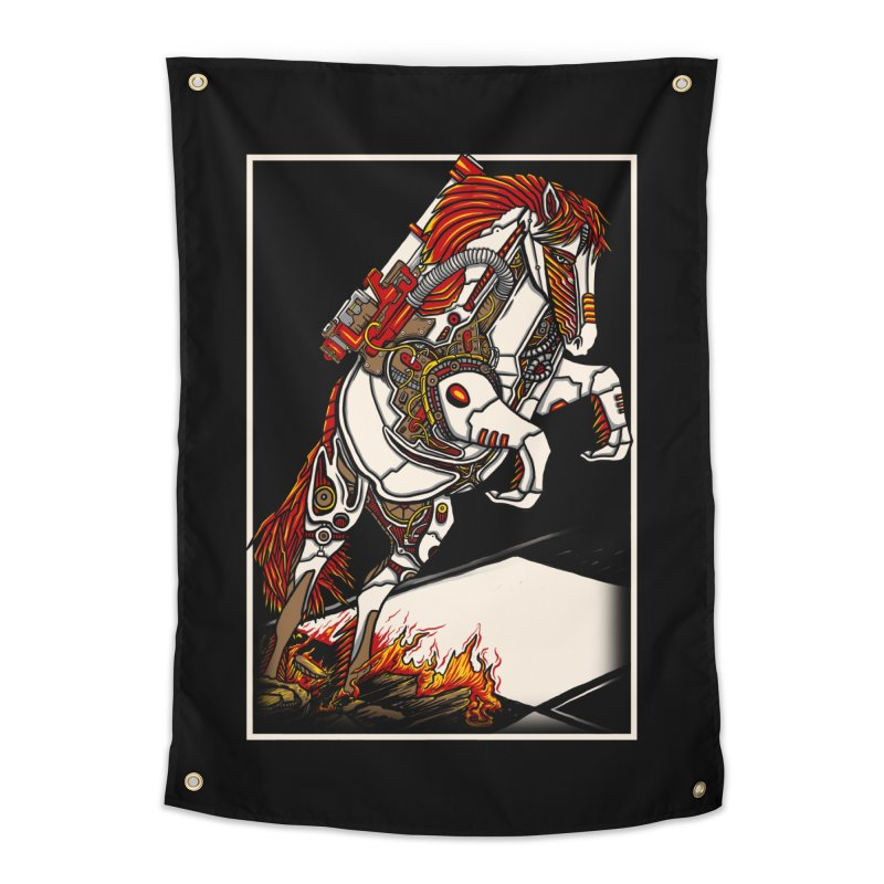 the darkness knight Home Tapestry by gupikus's Artist Shop