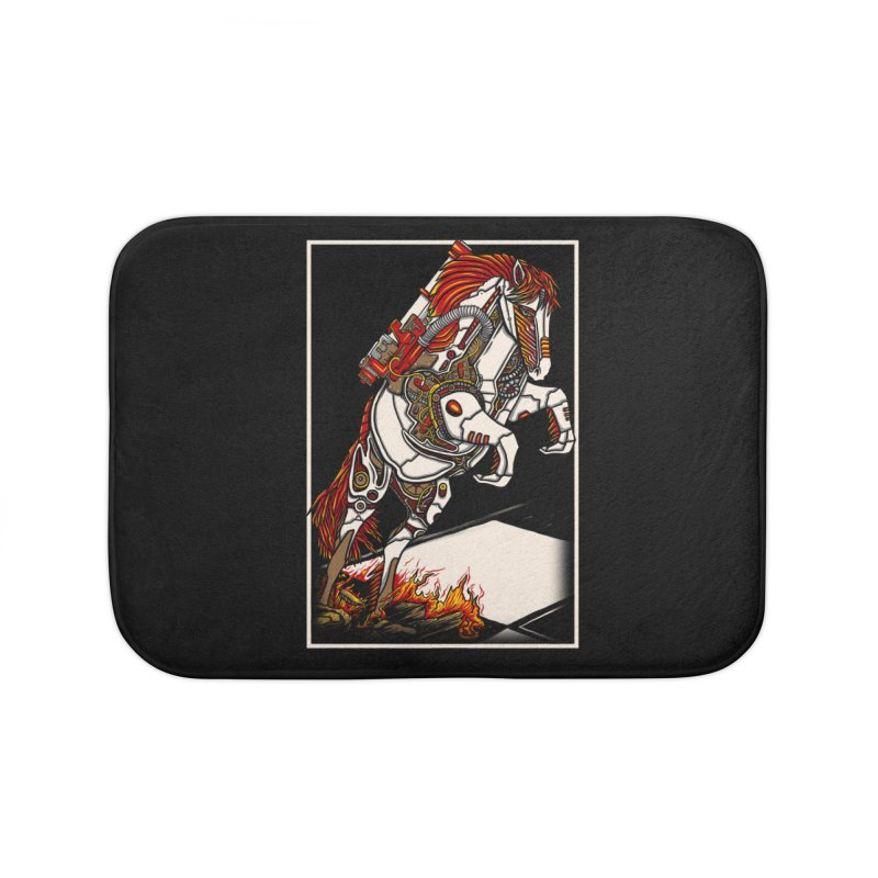 the darkness knight Home Bath Mat by gupikus's Artist Shop