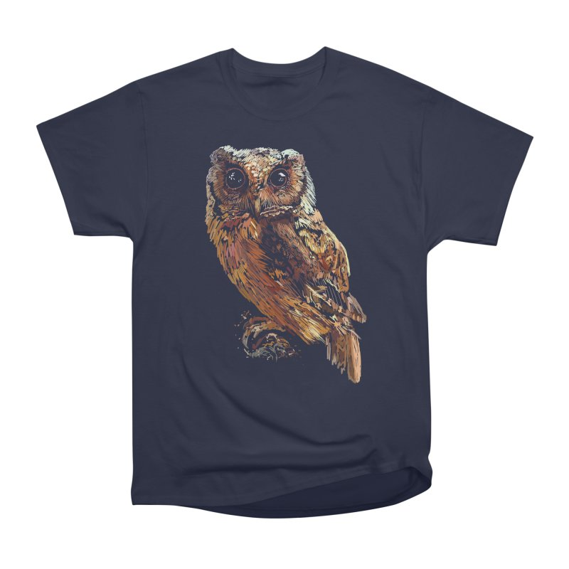 dark owl Men's Classic T-Shirt by gupikus's Artist Shop