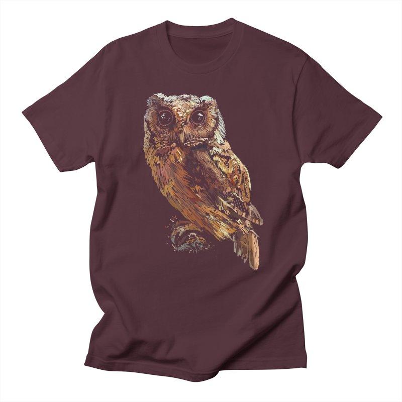 dark owl Men's T-Shirt by gupikus's Artist Shop