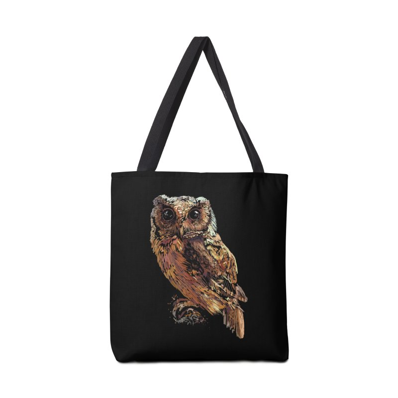 dark owl Accessories Tote Bag Bag by gupikus's Artist Shop