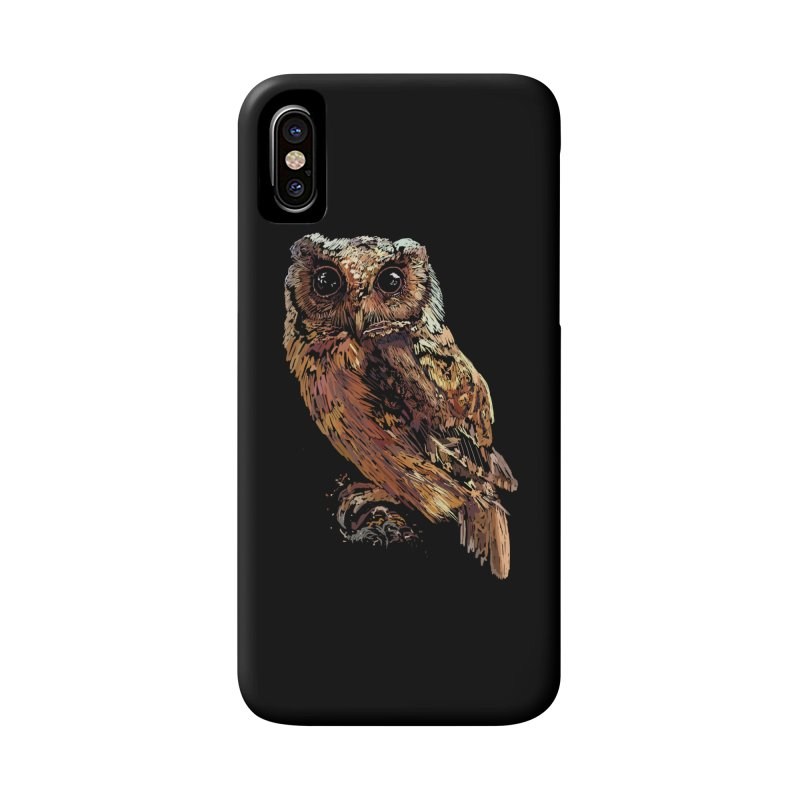 dark owl Accessories Phone Case by gupikus's Artist Shop