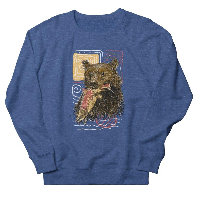 eat bear Men's Sweatshirt by gupikus's Artist Shop